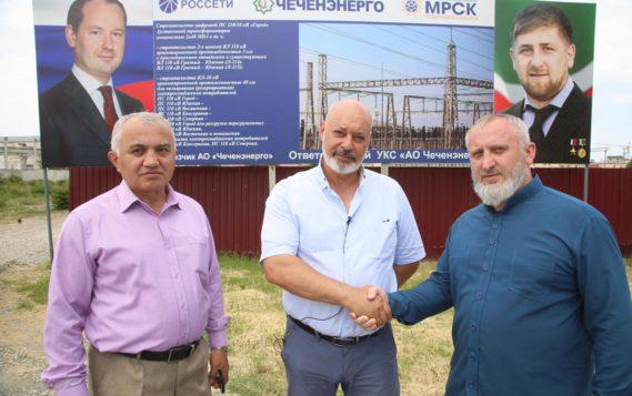 В Чечне запущено строительство первой цифровой подстанции