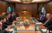 Александр Новак встретился с Министром энергетики, промышленности и минеральных ресурсов Саудовской Аравии Халидом Аль-Фалихом