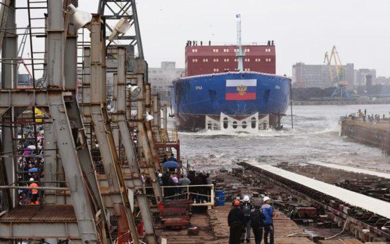 В Петербурге спущен на воду мощный атомоход «Урал»