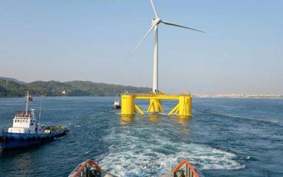 Плавучая ВЭС будет работать у берегов Испании