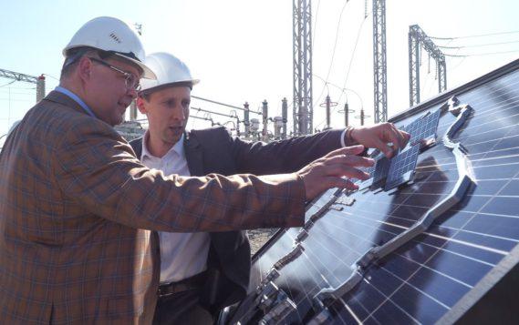 На Ставрополье торжественно открылась первая в крае солнечная электростанция