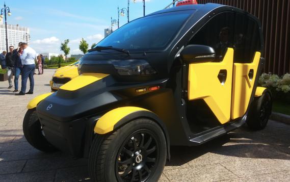 «Калашников» представил электромобиль-такси