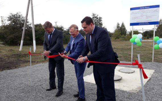 Первый объект по федеральному проекту «Чистая вода» запущен в Липецкой области