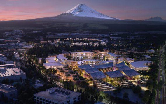 Toyota собирается строить город будущего
