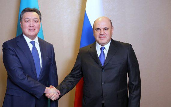"""Александр Новак: """"Российско-казахстанское взаимодействие в ТЭК строится на взаимовыгодном партнерстве"""""""