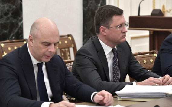 Александр Новак принял участие в совещании Президента России Владимира Путина по экономическим вопросам