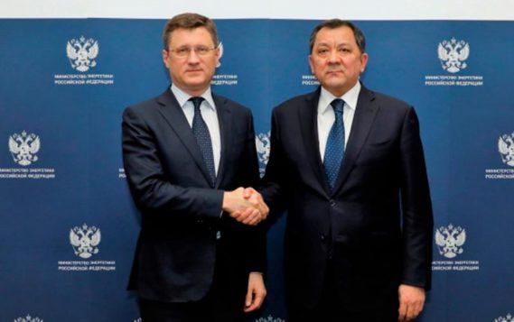 Состоялась встреча Александра Новака с Министром энергетики Республики Казахстан Нурланом Ногаевым
