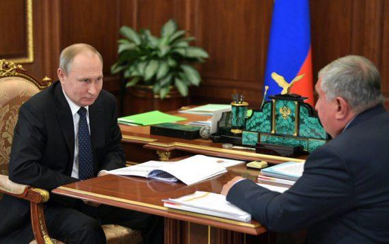 """Путин считает, что """"Восток Ойл"""" позволит увеличить ВВП и укрепить позиции России в Арктике"""