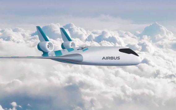 Airbus показала модель инновационного пассажирского самолета будущего