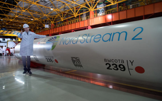 """""""Газпром"""" рассчитывает запустить """"Северный поток-2"""" в конце года"""