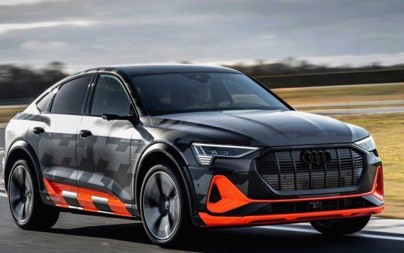 Audi представила первые серийные электромобили с тремя моторами