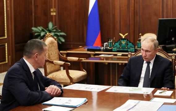 Владимир Путин проверил ход работ по развитию Дальнего Востока и Арктики