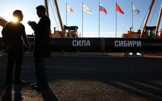 """""""Газпром"""" возобновил поставки газа в Китай по """"Силе Сибири"""""""