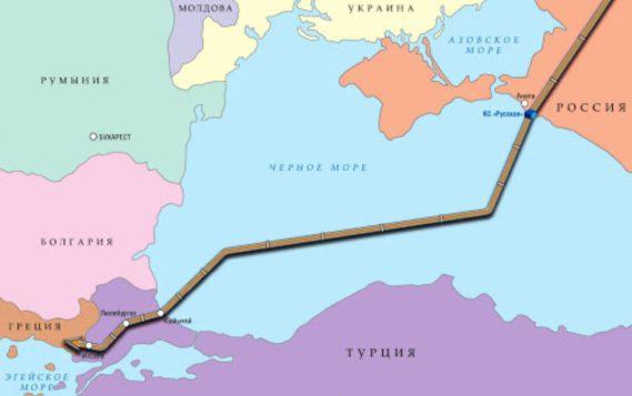 Турция резко сократила импорт газа из России