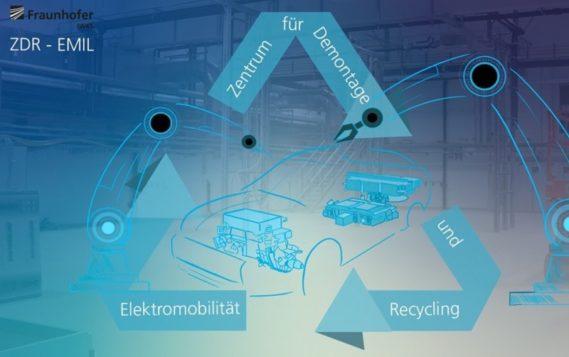 В Германии открыт центр переработки отслуживших электромобилей