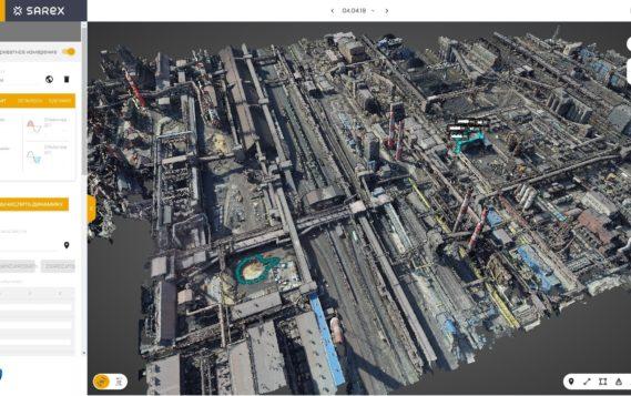 «Северсталь» внедряет геоинформационную платформу резидентов «Сколково», основанную на технологии цифровых двойников