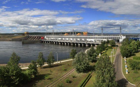 Воткинская ГЭС заменила четвертый гидроагрегат