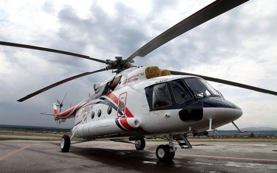 Улан-Удэнский авиационный завод выпустил первый гражданский арктический вертолет Ми-8АМТ