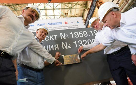 В Астрахани начато строительство ледостойкой платформы для шельфового месторождения «Газпрома» в Арктике