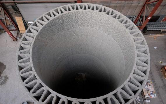 GE будет печатать 200-метровые башни ветрогенераторов на 3D принтере