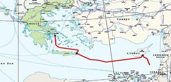 Израиль одобрил соглашение с Грецией и Кипром о строительстве газопровода в Европу