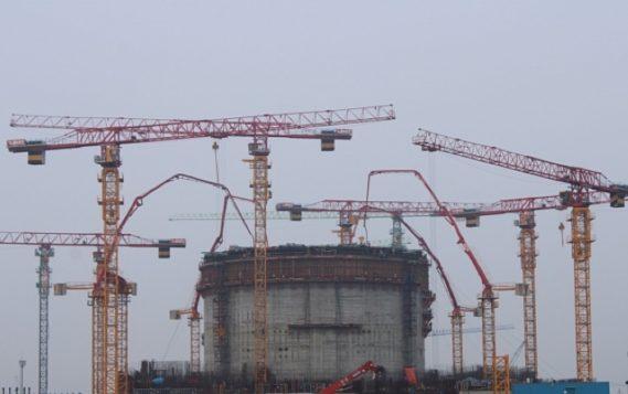 На энергоблоке №1 АЭС «Руппур» возведен третий ярус внутренней защитной оболочки реакторного здания