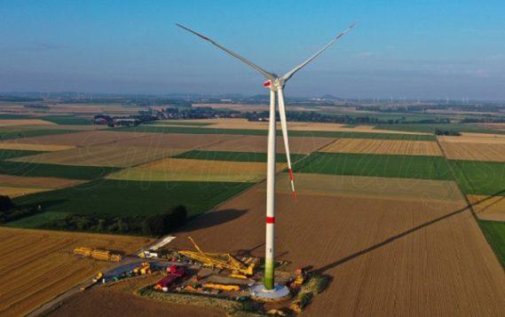 Концерн Enercon смонтировал опытный образец новой ветрогенераторной установки