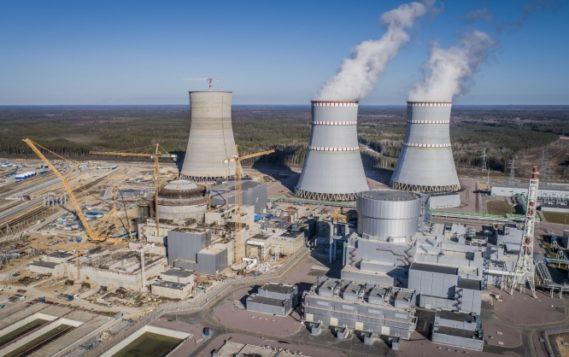 На Ленинградской АЭС заработала самая высокая градирня на северо-западе России