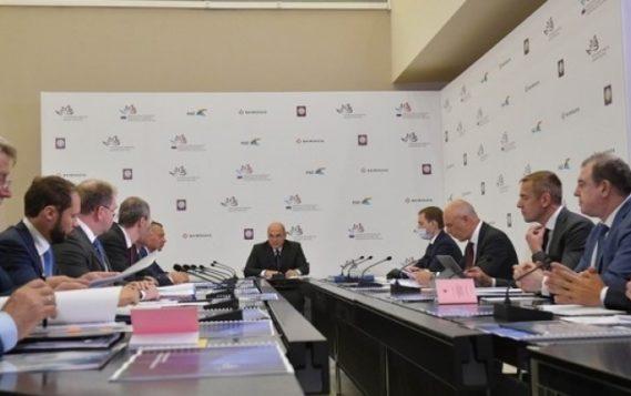 Александр Новак принял участие в совещании о ходе строительства Баимского горно-обогатительного комбината