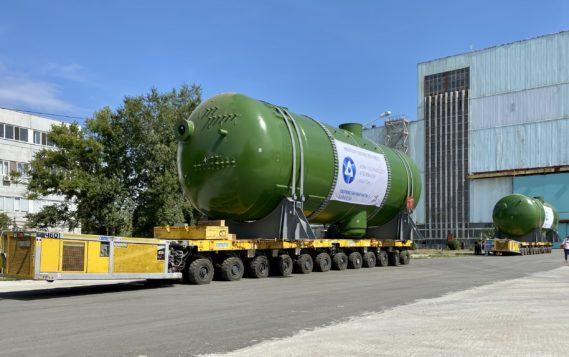 Стартовала отгрузка парогенераторов для первой АЭС в истории Турции