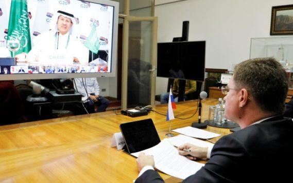 Александр Новак принял участие в работе встречи министров энергетики «Группы двадцати»