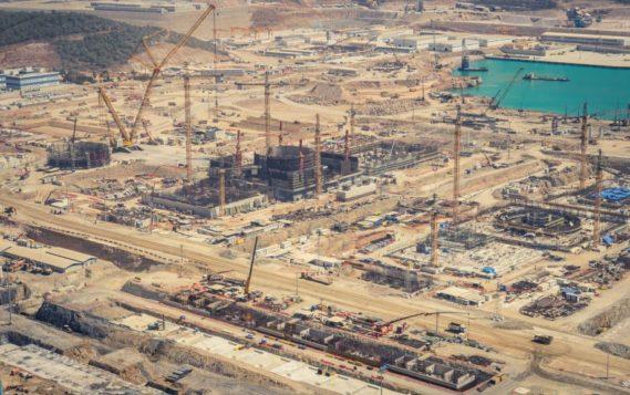 На первом энергоблоке АЭС «Аккую» установили сухую защиту реактора