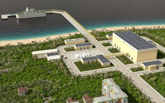 В «Айсберге» разработали проект плавучей АЭС для жарких стран