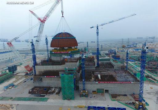 Госсовет Китая одобрил строительство еще четырех блоков с реакторами «Хуалун 1»