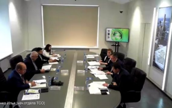 Александр Гладков принял участие в круглом столе «Обеспечение экологической и промышленной безопасности – ответственность государства, бизнеса и общества»