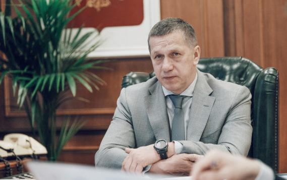 Вопросы развития строительства обсудили Юрий Трутнев и Марат Хуснуллин с главами дальневосточных регионов