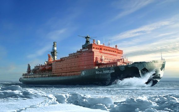 """Медведев: работа ледокола """"Арктика"""" станет залогом непрерывного судоходства на Севере"""