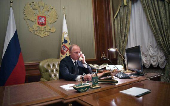 Путин обсудил с канцлером Австрии коронавирус и сотрудничество в энергетике