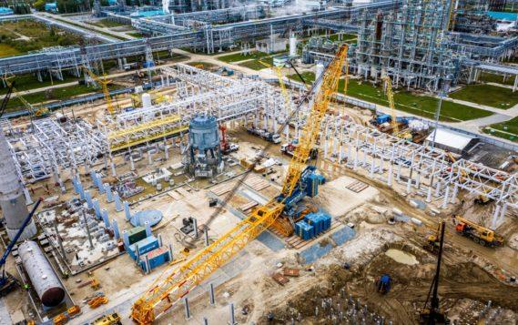 Строительная готовность завода по производству МАН в Тобольске достигла 35%