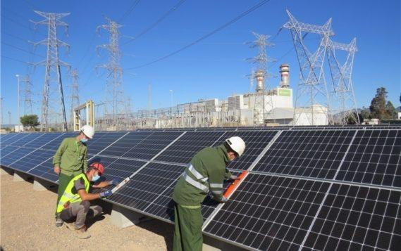 Iberdrola строит солнечные электростанции на территории газовых
