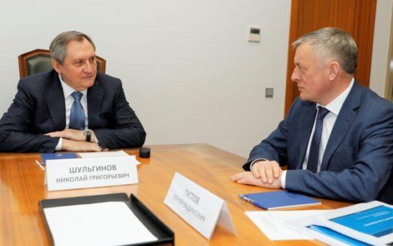 Николай Шульгинов и Сергей Густов обсудили ход газификации регионов РФ