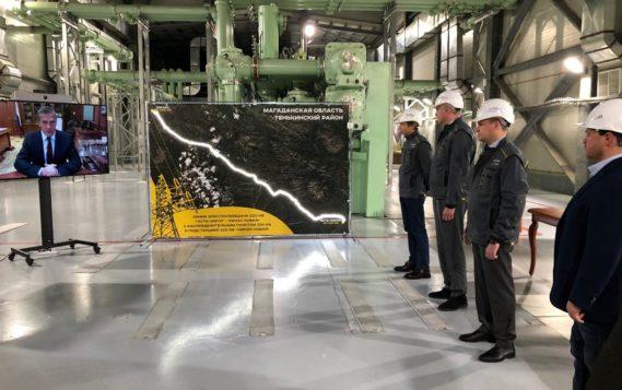 В Магаданской области построена линия электропередачи для освоения Наталкинского золоторудного месторождения