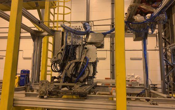 На Ленинградской АЭС испытан уникальный робот