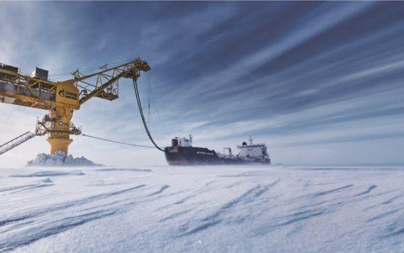 Через терминал «Ворота Арктики» выполнена тысячная загрузка танкера