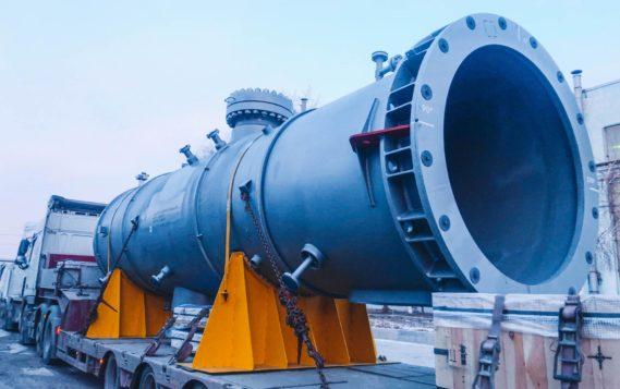 С начала 2021 года Волгограднефтемаш продолжает регулярно отгружать крупногабаритное оборудование