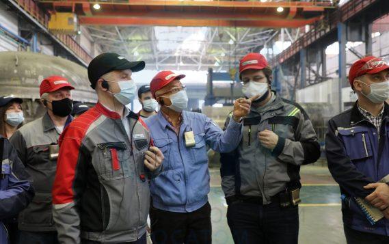 Петрозаводскмаш перенимает лучшие практики японских промышленных компаний