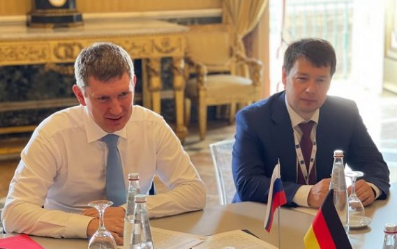 Максим Решетников обсудил с официальными лицами Германии и Франции вопросы климатической повестки и ТУР