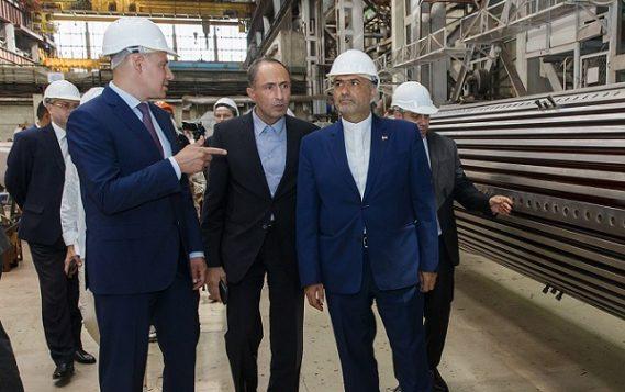Посол Ирана в РФ посетил завод «ЭЛСИБ»