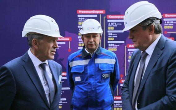 Глава Минэнерго РФ ознакомился с работой объектов Красноярской ТЭЦ-1